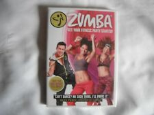 Zumba - Get Your Fitness Party Started!  Exercise Workout DVD - NEW & SEALED