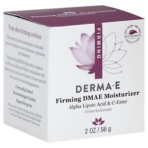 Derma E Firming DMAE Moisturizer Alpha Lipoic Acid C-Ester 2.0 oz