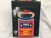 TOPPS STADIUM CLUB 1992 SERIES 3 - 36 pk BOX MLB Baseball Cards Kodak Premium