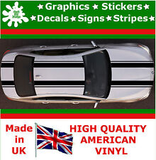 "Dual 7"" Racing Stripes Sticker Vinyl Decal Art Car Auto Rally Graphics JDM Viper"