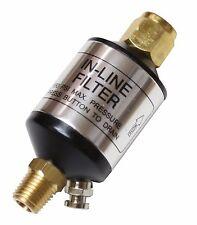 2 PCS LEMATC Aluminum Mini Inline Air Filter Water Separator with Drain valve
