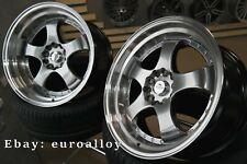 Neue 4x 18 zoll 5x114,3 SSR SP1 style felgen für Japan car JDM Work Advan wheels