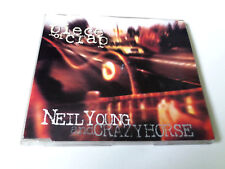 "NEIL YOUNG AND CRAZY HORSE ""PIECE OF CRAP"" CD SINGLE 3 TRACKS"