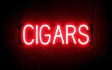 SpellBrite Ultra-Bright CIGARS Sign (Neon look, LED performance)