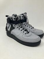 Nike SF Air Force 1 Mid Men's, 11 US, Grey/Black