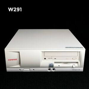 VINTAGE HP COMPAQ DESKPRO INTEL PENTIUM 3 1GHz 512MB 80GB WIN XP PRO W291