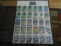 TEXAS RANGERS NICK SOLAK RC LOT X31 TOPPS & BOWMAN CHROME NICE LOT LOOK!