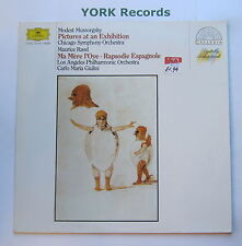 DG 415 844-1 - MUSSORGSKY - Pictures At An Exhibition RAVEL - Ex Con LP Record