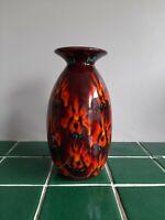 Anita Harris Art Pottery Vase Signed SJ