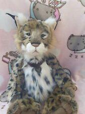 Charlie Bear Loki the Lynx - Retired - with Tags