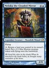 MELOKU THE CLOUDED MIRROR Modern Masters 2013 MTG Blue Creature—Wizard RARE Illu
