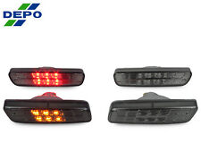 DEPO 01-05 Lexus IS300 Crystal Smoke Front Amber +Rear Red LED Side Marker Light