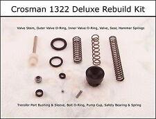 Crosman 1322 P1322 Deluxe Reseal Rebuild O-Ring Seal & Spring Kit