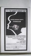 PYGMALION Herald MAUREEN O'SULLIVAN / MILO O'SHEA 1979