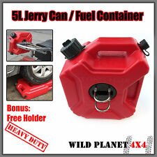 5L Oil Can Gas Spare Container Pot Anti-static Jerry Can Polaris Fuel Tank Pack
