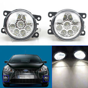 2X For 2012 2013 2014 2015 Subaru Impreza XV Crosstrek LED Fog Light Bumper Lamp