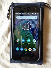 Motorola MOTO G5 Plus - 64GB - Lunar Grey (Unlocked) Smartphone w/cases screens