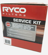 Oil Air Fuel Filter Ryco Service Kit for Holden Commodore VE 3.0 3.6L 2006-2013