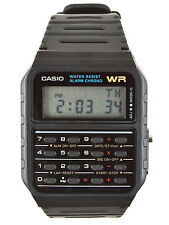 Casio CALCOLATRICE NERO WATCH ca-53w-1z, Allarme, cronometro e DUAL TIME