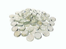 Clear Coloured Glass Gems Stones Approx 90 Pieces Nuggets Home Deco Candles