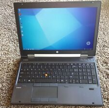 HP EliteBook 8570w Core i5 QUAD/8/320 HDD Webcam nVidia Gaming Win 10