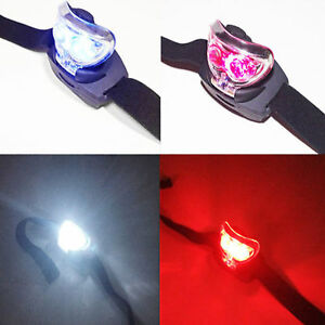 LED Red Head Torch and White Light for Camping Astronomy Telescope Eyepiece