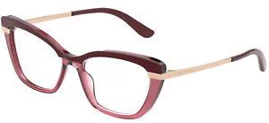 Dolce & Gabbana HALF PRINT DG 3325 Burgundy 54/17/140 women Eyewear Frame