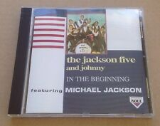 The Jackson 5 And Johnny - In The Beginning Cd Album Rare! 1994 Michael MINT!
