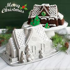 Aluminum Non-stick House Bake Mold Ware Baking Cake Pan Christmas Holiday Gift