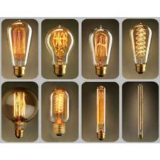 E27 40W Edison Vintage Retro Glühlampe Filament Nostalgie Glühbirne Warmweiss