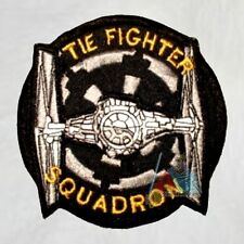 Tie Fighter Squadron Embroidered Patch Star Wars Darth Vader Sith Empire Logo