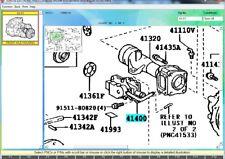 Genuine Toyota OEM Front Differential Actuator 41400-35033 4RUNNER FJ CRUISER