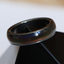 Premium Hematite Ring Mood Ring Mens Womens Colour Color Changing Size 6 NEW
