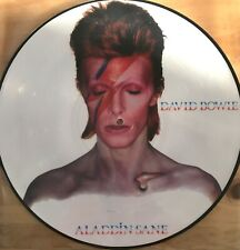 david bowie aladdin sane  rare picture disc vinyl ltd edition