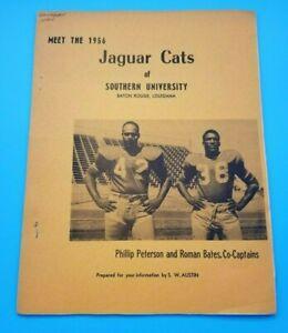 SOUTHERN UNIVERSITY JAGUARS - COLLEGE FOOTBALL MEDIA GUIDE - 1956 - RARE