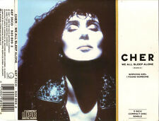 "CHER ""WeAllSleepAlone(Remix)"" 1988 3Trk 3inch CDSingle *BonJovi ""IFoundSomeone"""