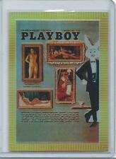 Playboy Chromium Cover Cards Edition 3 Illustrated Card refractor # R225