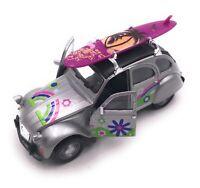 Citroën 2CV Modèle en Argent Planche de Surf Toit Fleur Maßstab 1:3 4 (Licencé)