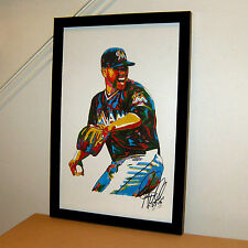 Jose Fernandez Miami Marlins Pitcher Baseball All-Star 11x17 Print Poster Art