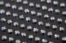 3000 BULK PACK of 5mm SINGLE Self Adhesive DIAMANTE Stick On GEMS, CLEAR