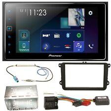 Pioneer SPH-DA130DAB USB MP3 Bluetooth Einbauset für Golf 5 6 Passat 3C CC B7 To