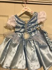 Disney CINDERELLA Blue Dress, Headband and matching Shoes // Brand New!!