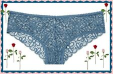 XL Deep  Blue THE LACIE All Lace Daisy Cheeky Lowrise Victorias Secret Pantie