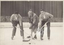 HOCKEY SUR GLACE Vel' d'Hiv Jeff DICKSON André ROANNE Cinema Sport Photo 1930s