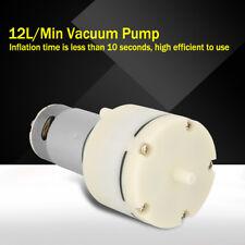DC12V Mini Vakuumpumpe 12 L/min Hochdruck Membran Luftpumpe Pumpe
