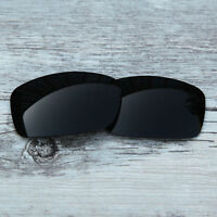 New Black  Polarized Replacement lenses for-Oakley Fives Squared