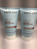 Two bottles of Pravana NEVO Color Enhancer Treatment 5 OZ, U-Pick Color