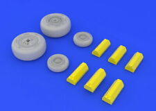 Eduard 648142 1/48 McDonnell F-4C Phantom Wheels for Academy kits