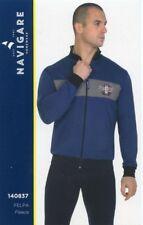 Pajamas Open with Zip Men's Long Sleeve Cotton Fleece Navigare Art. 140837