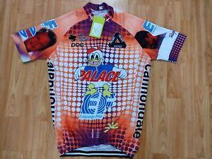 EF Team REPLICA Mens' Full Zipp Short Sleeve Cycling jersey Size: M NEW!